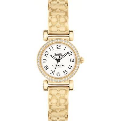 Coach Madison Crystal Bracelet Watch, 2m