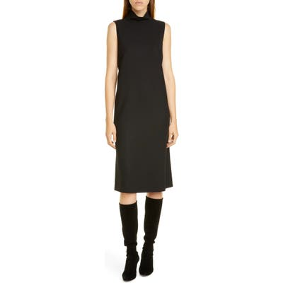 Lafayette 148 New York Teresa Stretch Wool Dress, Black