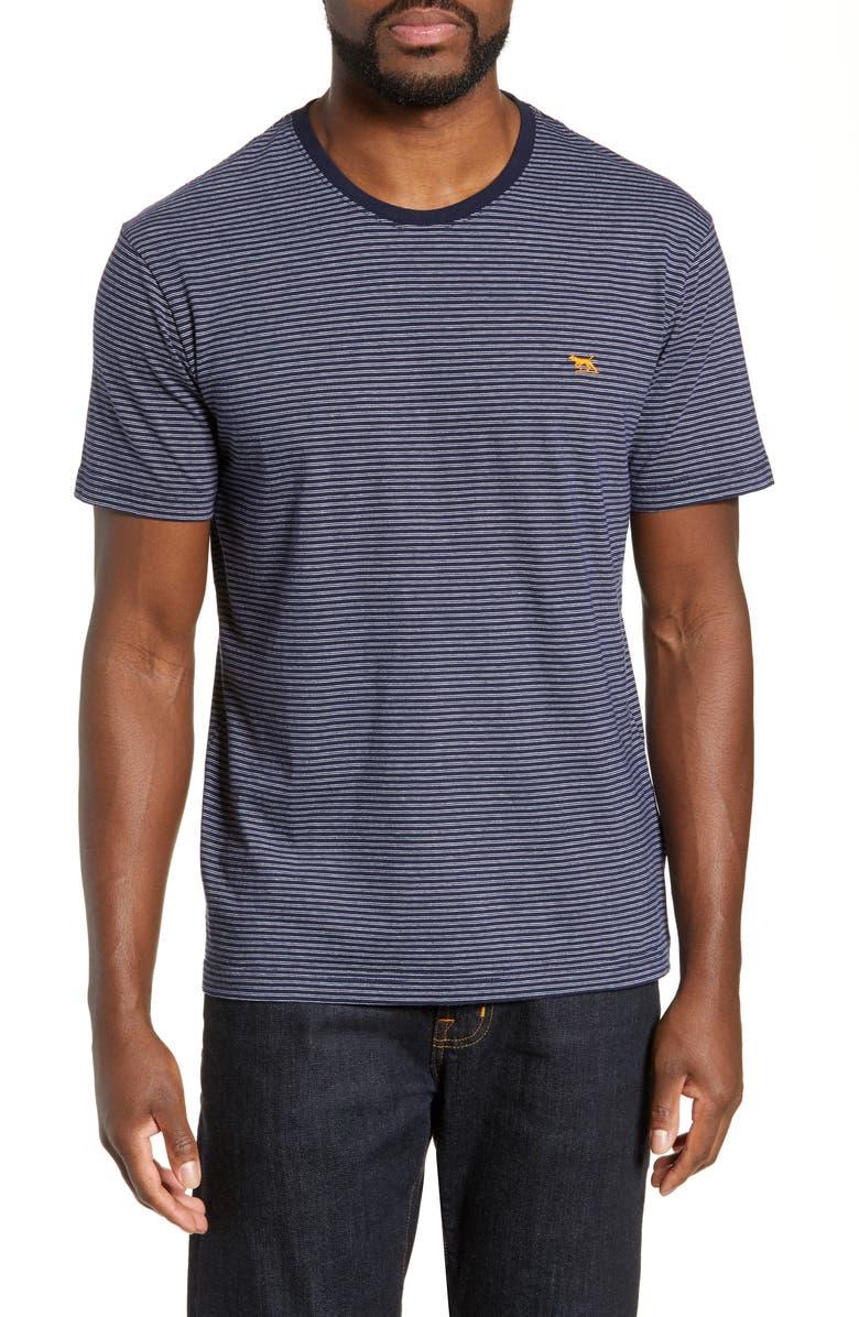 RODD & GUNN Gilbert T-Shirt, Main, color, PEACOAT