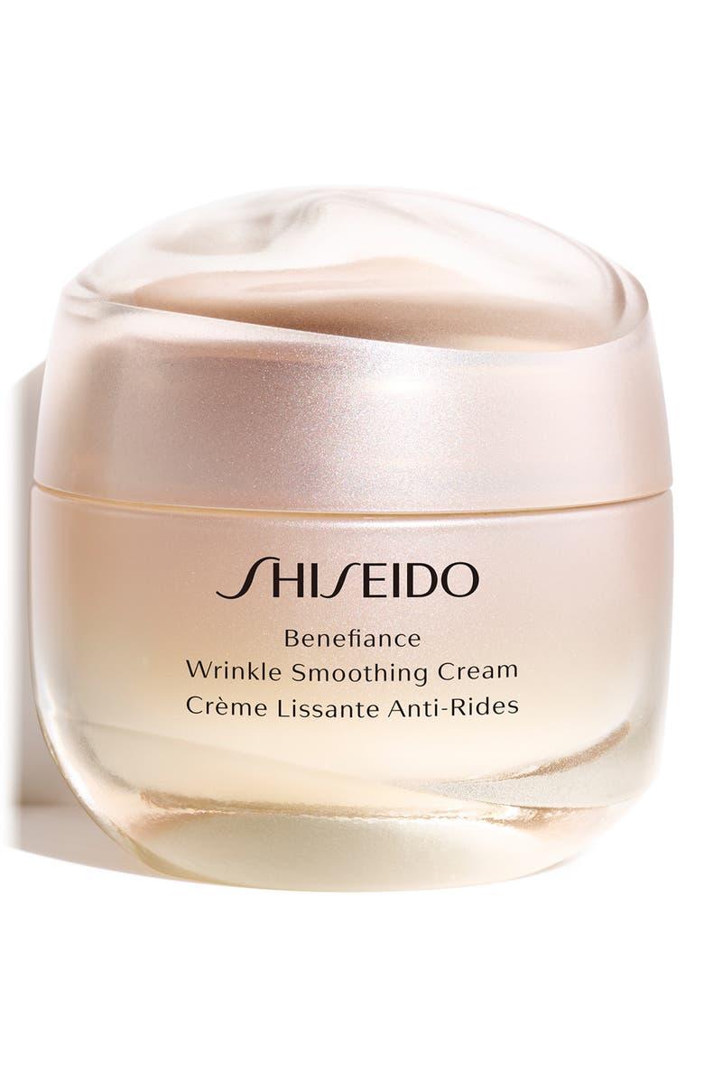 SHISEIDO Benefiance Wrinkle Smoothing Cream, Main, color, 000