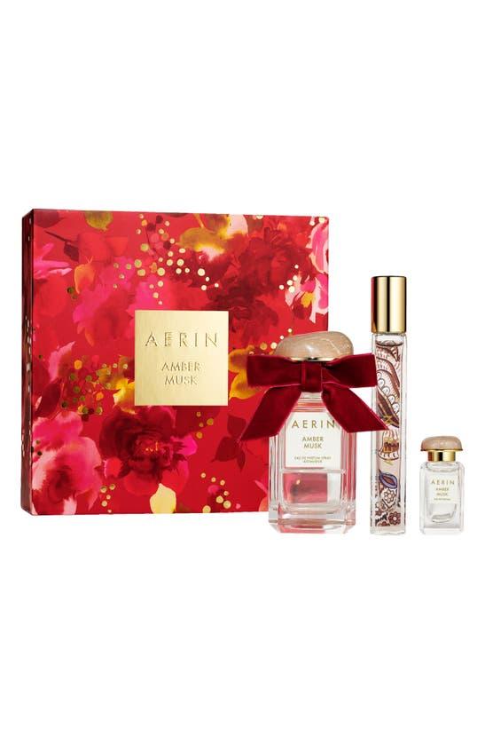 Estée Lauder Aerin Beauty Amber Musk Eau De Parfum Set (usd $165 Value)