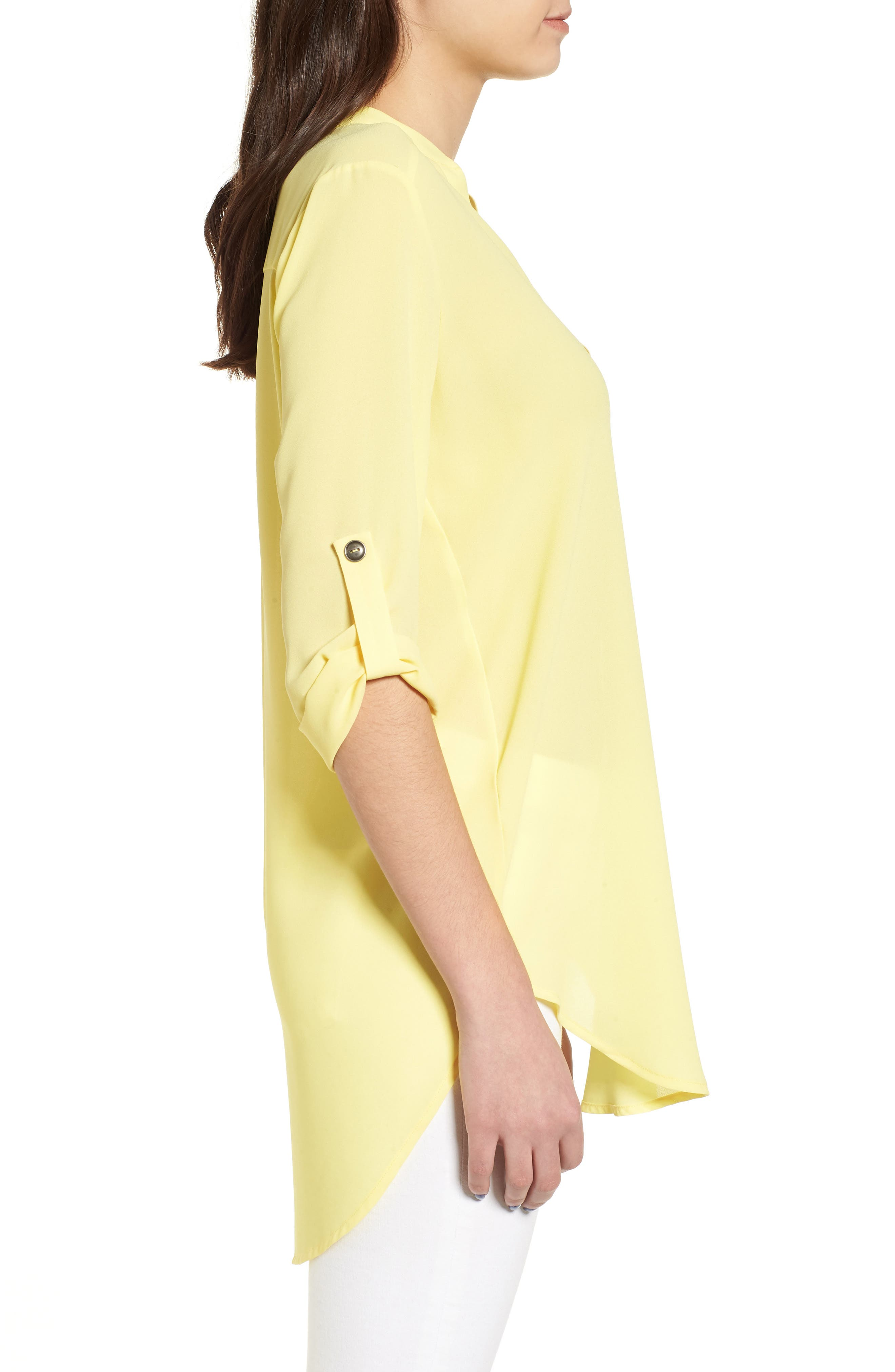 ,                             Perfect Roll Tab Sleeve Tunic,                             Alternate thumbnail 150, color,                             701