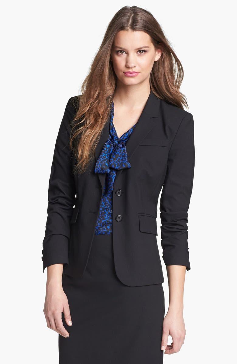 HALOGEN<SUP>®</SUP> 'Ela' Suit Jacket, Main, color, 001