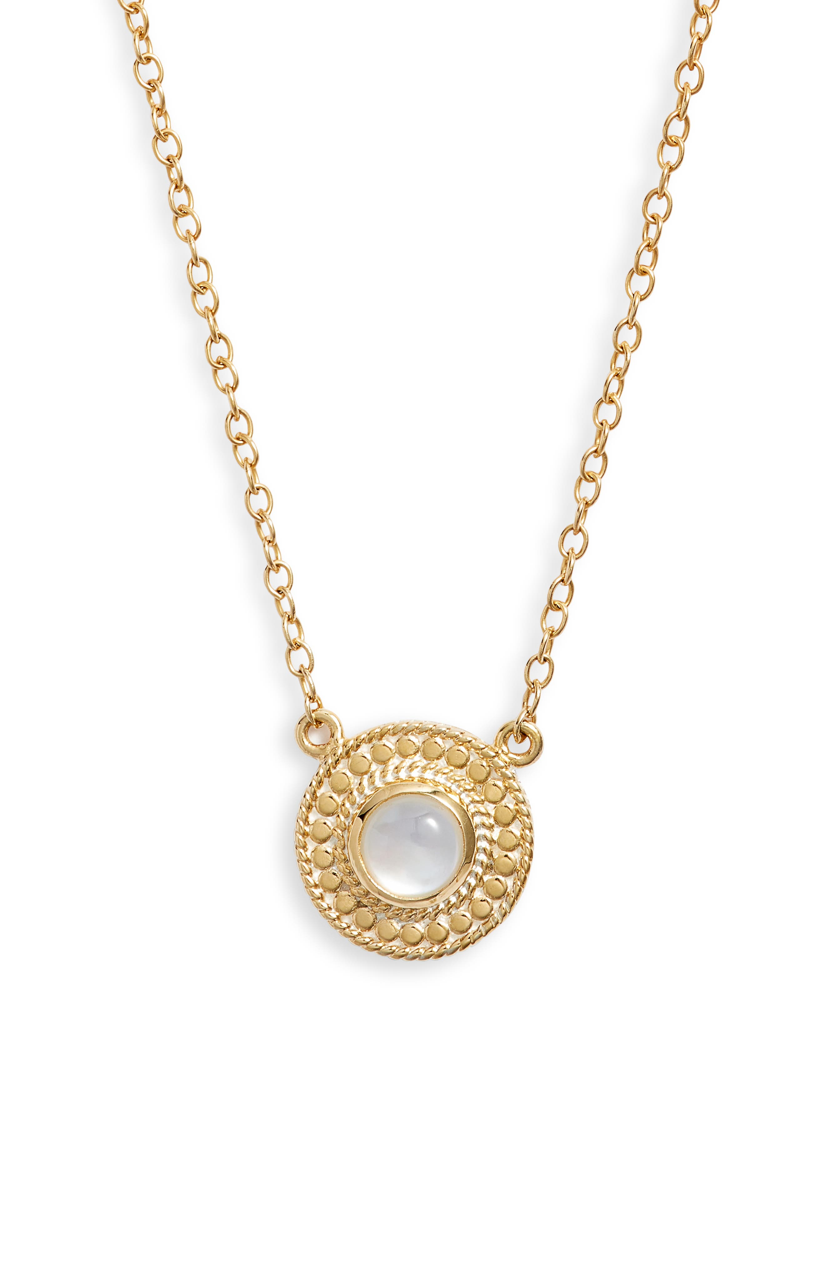 Mother-Of-Pearl Pendant Necklace (Nordstrom Exclusive)
