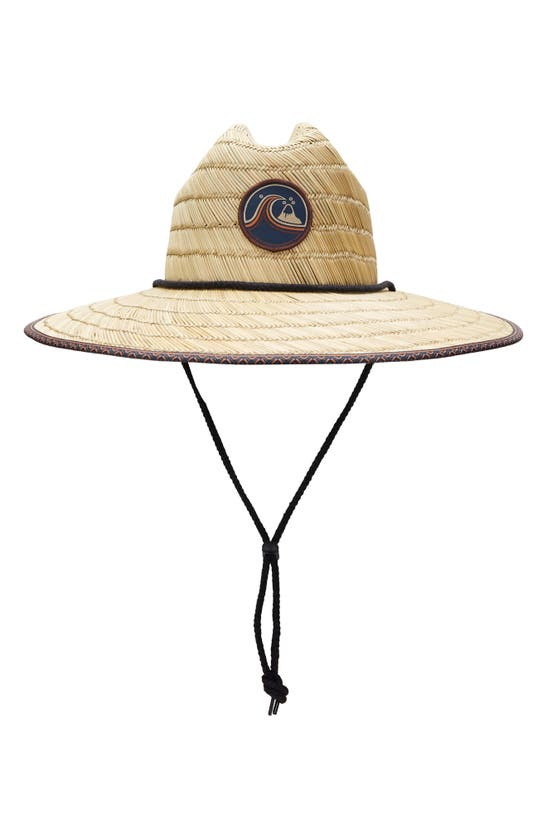 Quiksilver DREDGED STRAW LIFEGUARD HAT