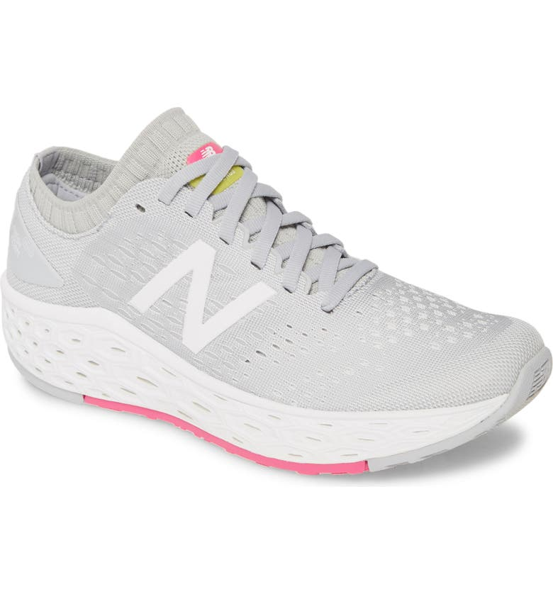 NEW BALANCE Fresh Foam Vongo Running Shoe, Main, color, LIGHT ALUMINUM