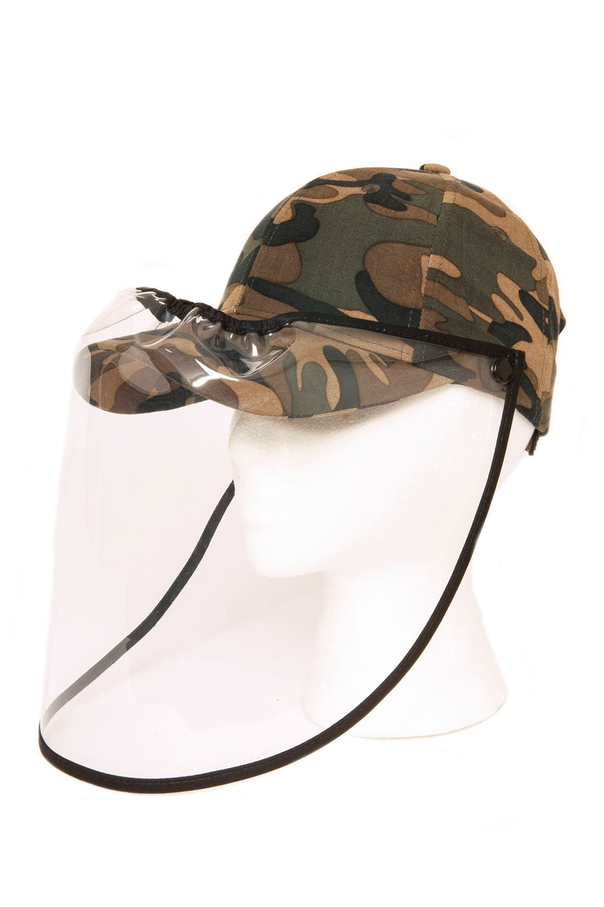 Image of LULLA COLLECTION BY BINDYA Camo Face Shield Cap