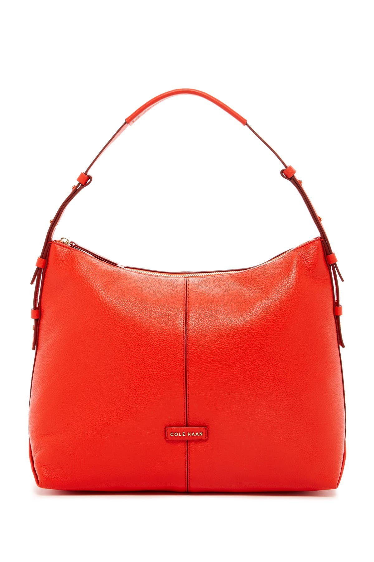Image of Cole Haan Emma Leather Hobo Bag