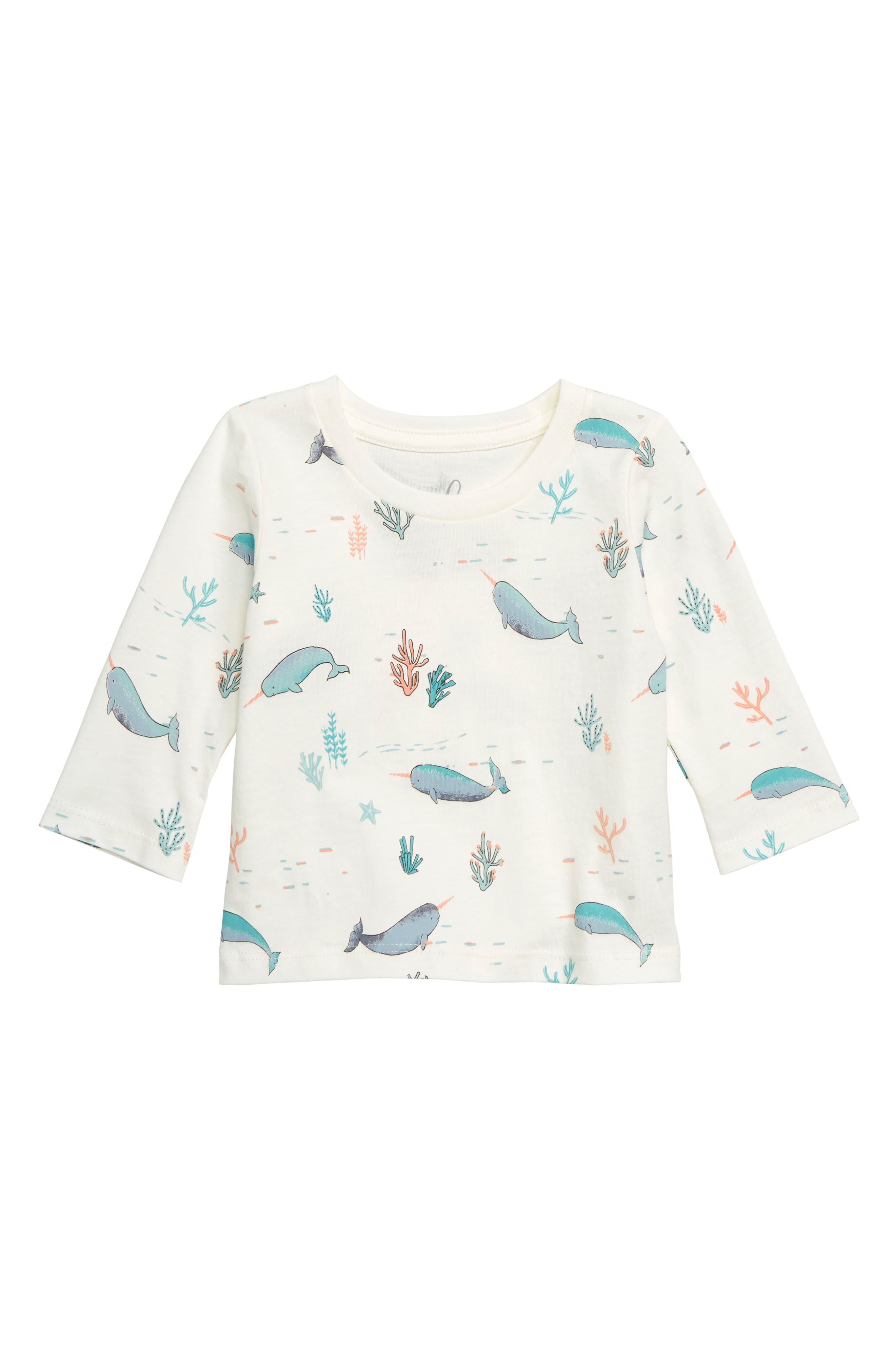 Narwhal T-Shirt, Main, color, 900