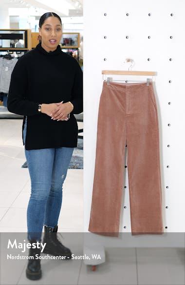 Corduroy Wide Leg Pants, sales video thumbnail