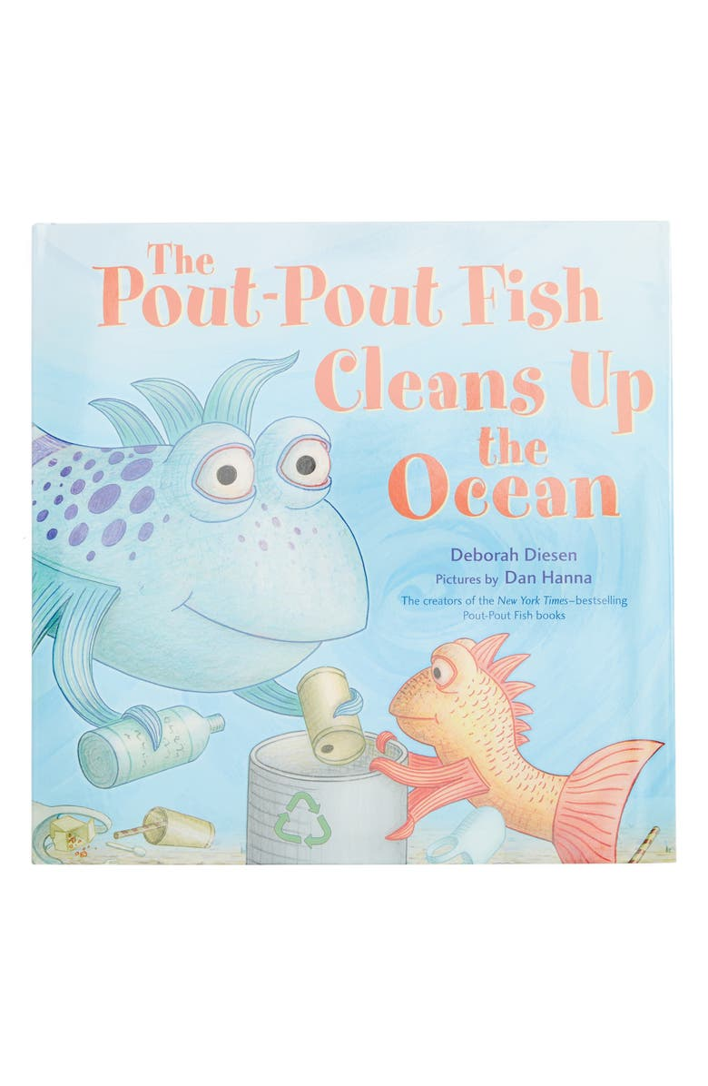 MACMILLAN 'The Pout-Pout Fish Cleans Up The Ocean' Book, Main, color, 400