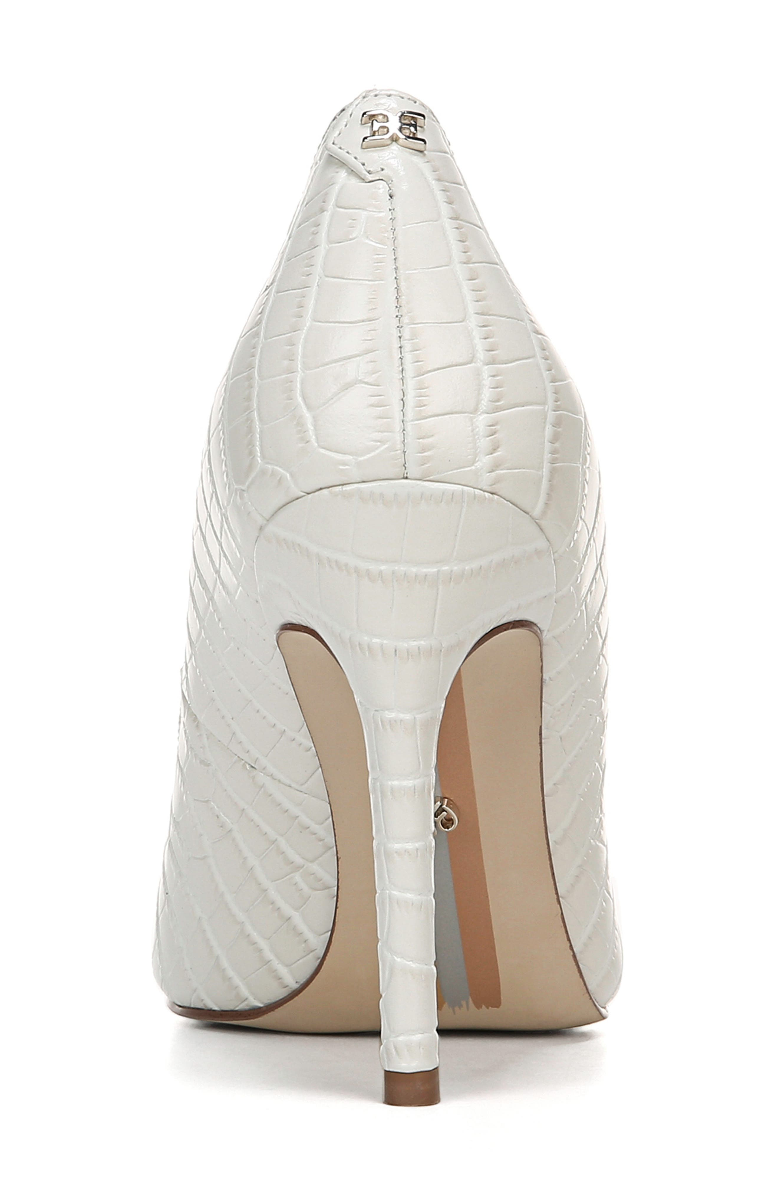 ,                             Hazel Pointy Toe Pump,                             Alternate thumbnail 7, color,                             MODERN IVORY LEATHER