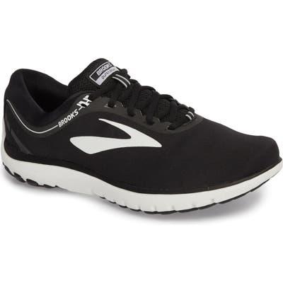 Brooks Pureflow 7 Running Shoe, Black