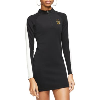 Nike Sportswear Glam Dunk Long Sleeve Minidress