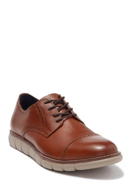 Image of Johnston & Murphy Milson Leather Cap Top Loafer