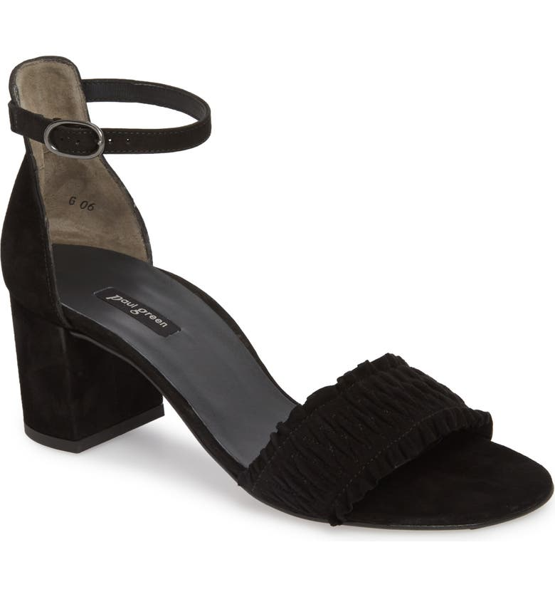 PAUL GREEN Palermo Ankle Strap Sandal, Main, color, 002