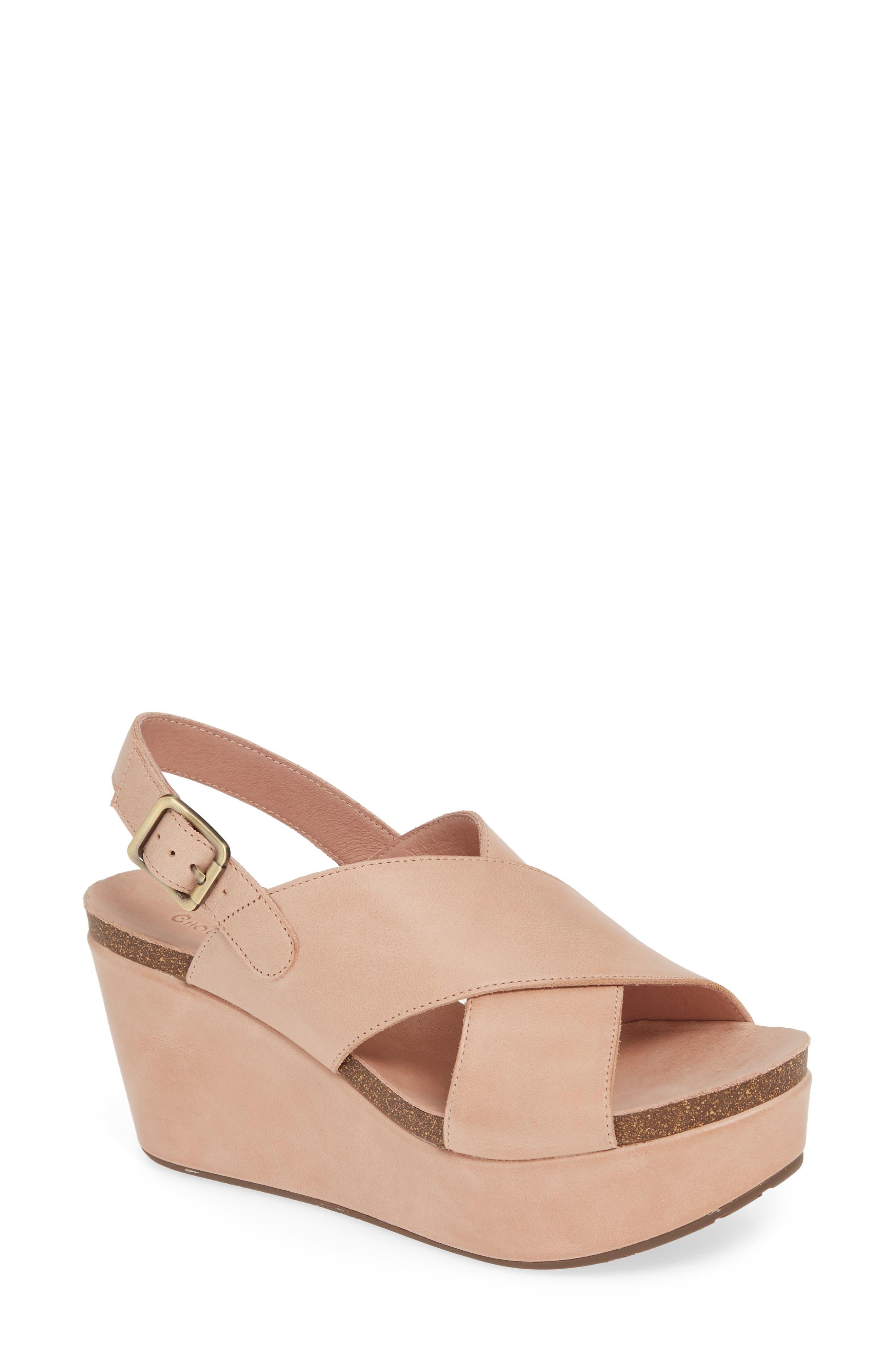 Wink Platform Wedge Sandal