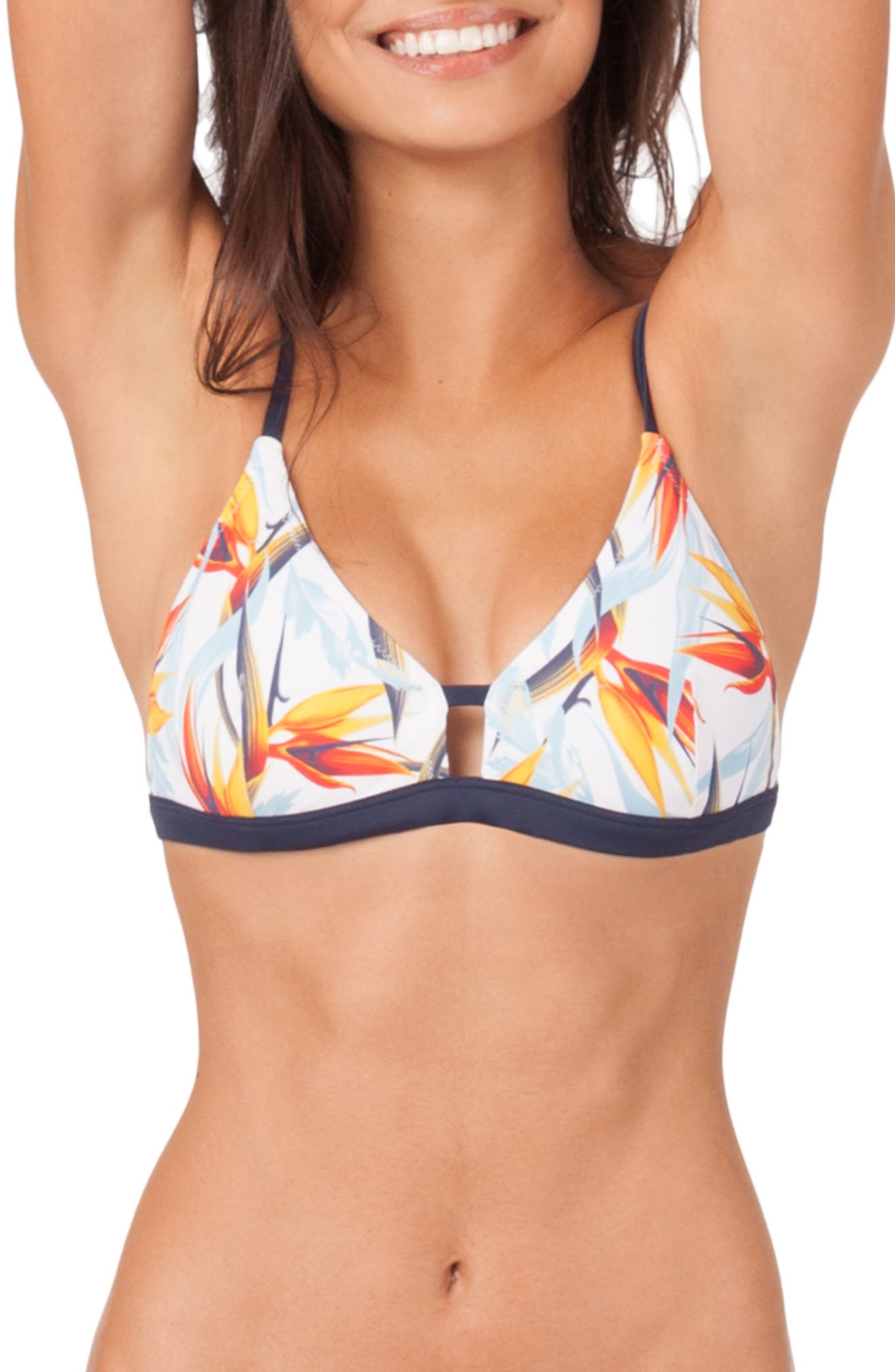 Lively The Bralette Print Swim Top