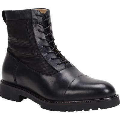Ross & Snow Cap Toe Weatherproof Boot- Black
