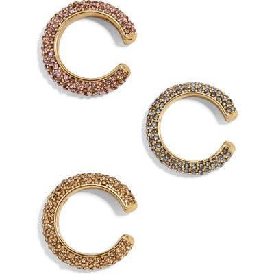 Baublebar Set Of 3 Selena Pave Ear Cuffs