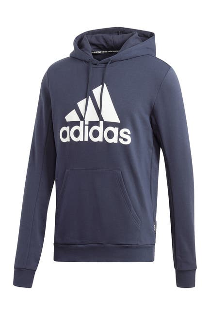Image of adidas Must Haves Badge of Support Pullover Fleece Hoodie