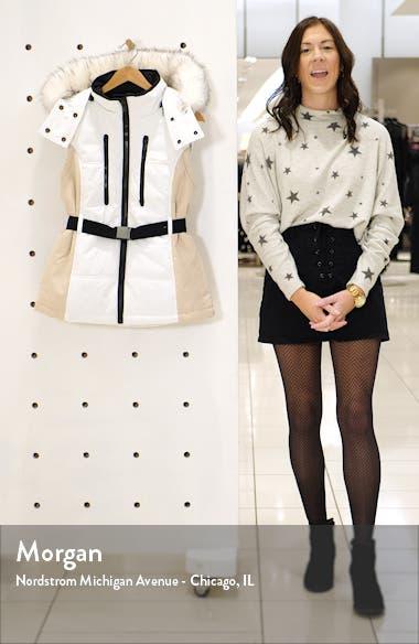 SNO Sun Faux Fur Trim Vest, sales video thumbnail