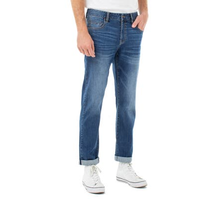 Liverpool Relaxed Straight Leg Jeans, Blue