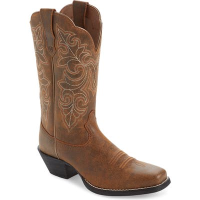 Ariat Roundup Western Boot W - Brown