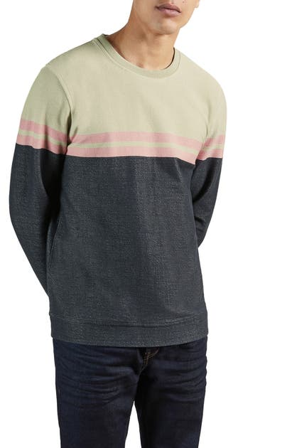 Ted Baker LAWN COLORBLOCK SWEATSHIRT