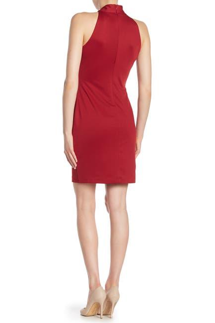 Image of Alexia Admor McKenzie Front Bow Sheath Dress