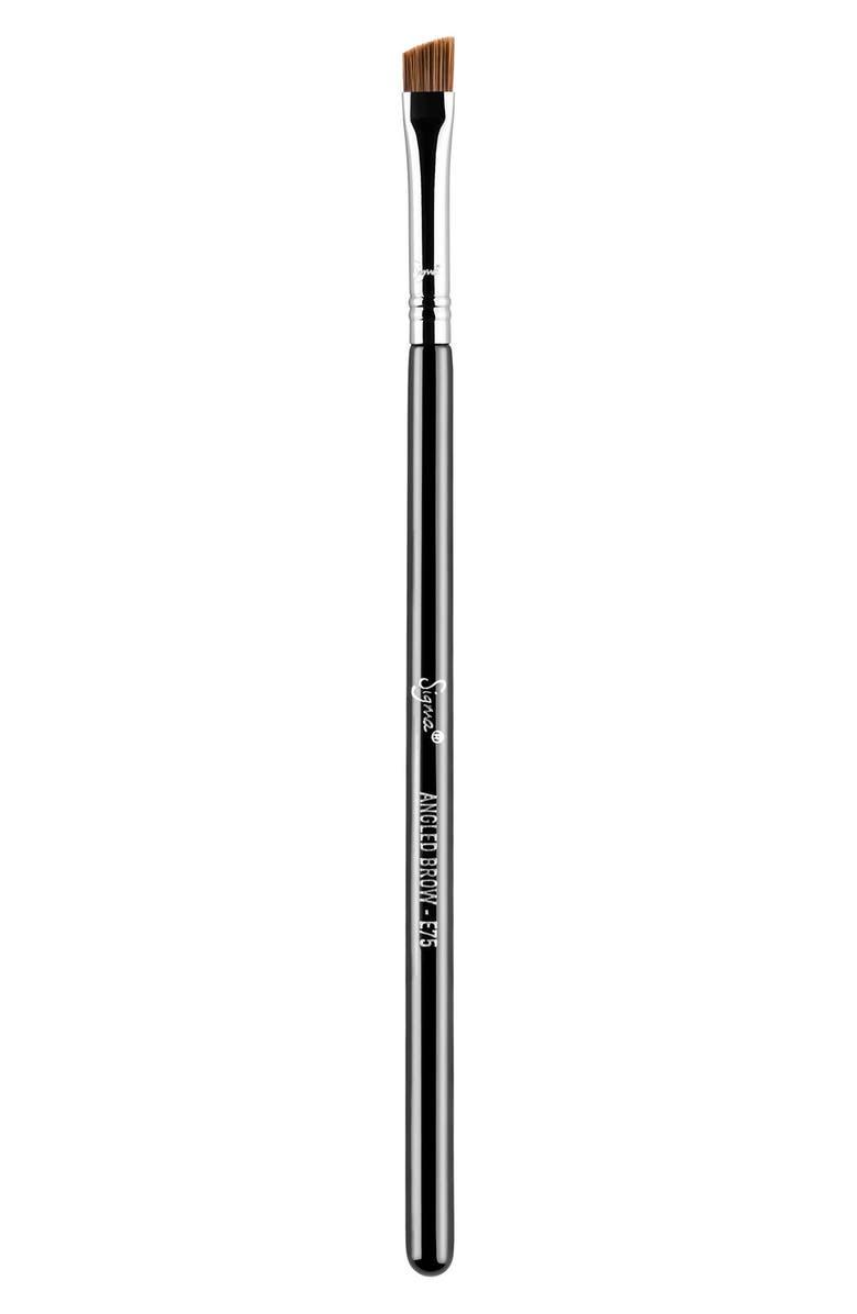 SIGMA BEAUTY E75 Angled Brow Brush, Main, color, NO COLOR