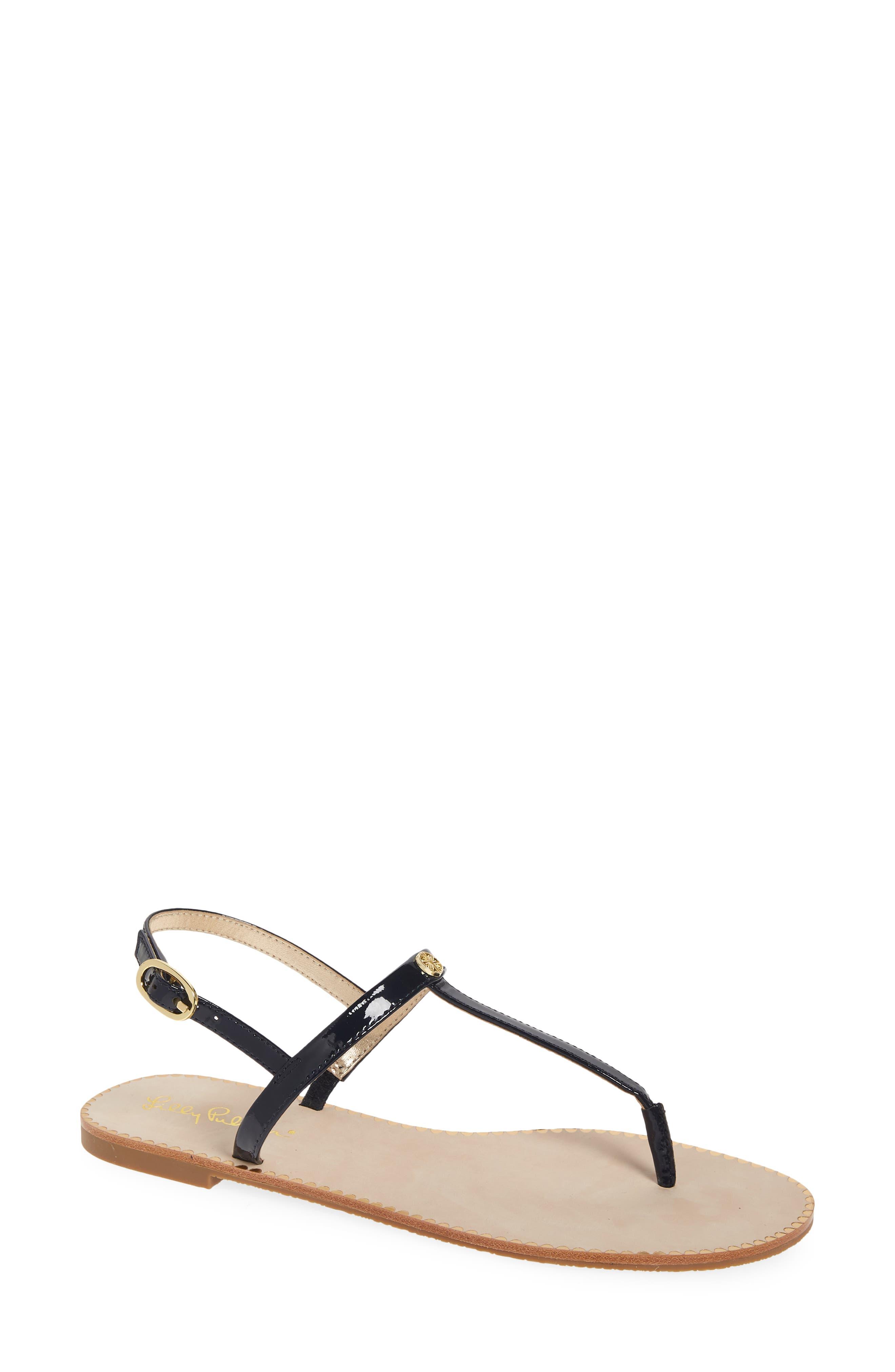 Women's Lilly Pulitzer Rita T-Strap Sandal