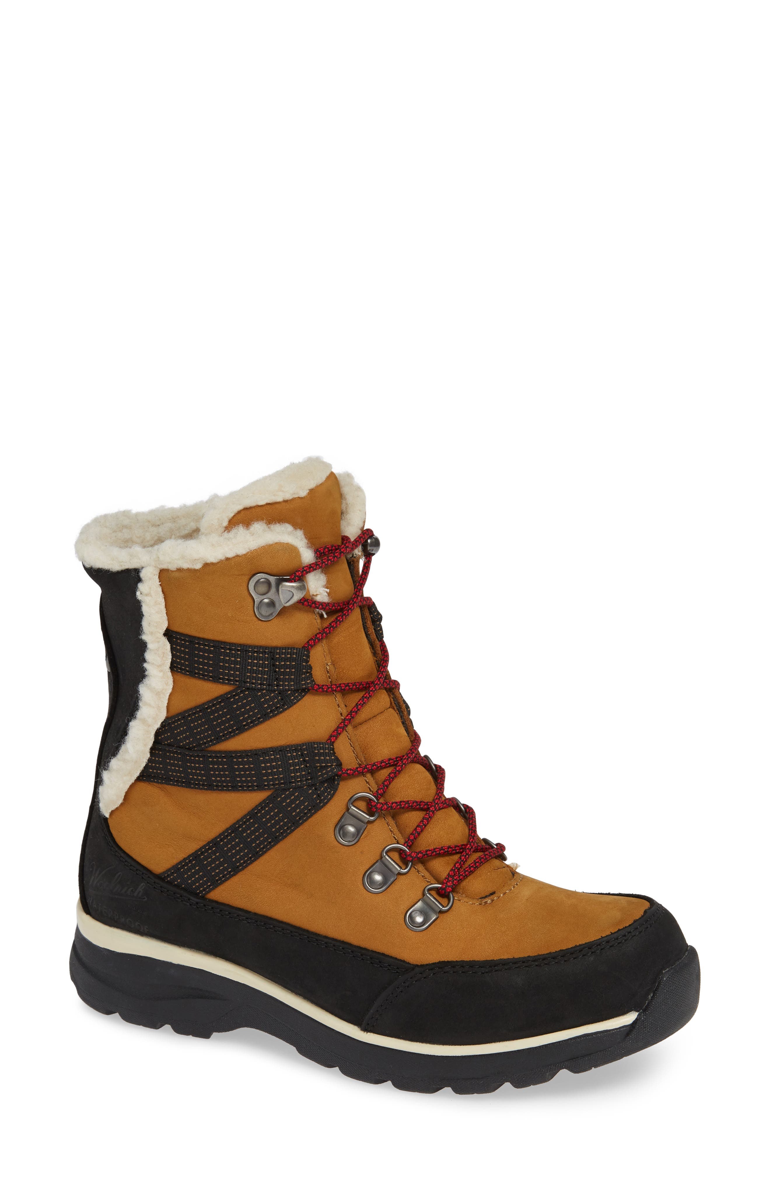 Woolrich Laurel Highlands Hiking Boot- Beige