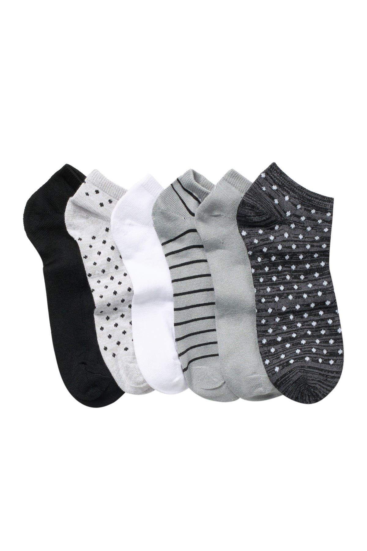 Image of Christian Siriano New York Low Ankle Socks - Pack of 6