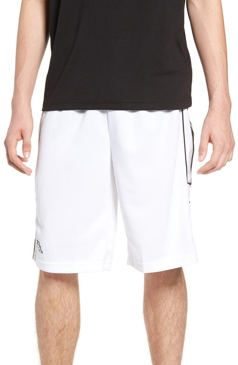 KAPPA Banda Shorts, Main, color, 100
