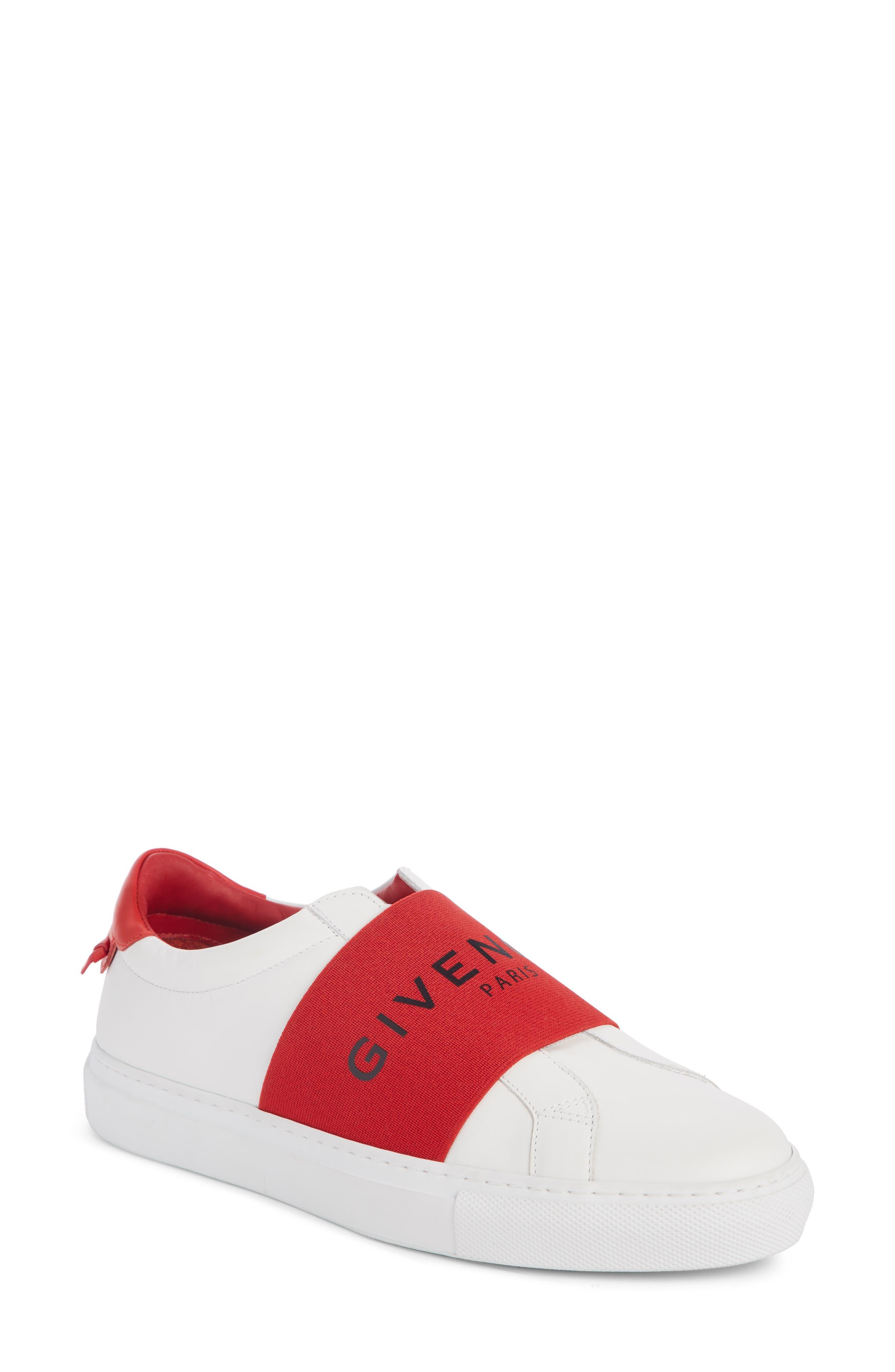 Givenchy Urban Street Logo Band Sneaker - White