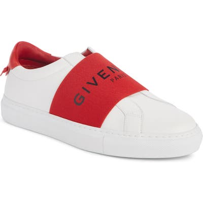 Givenchy Urban Street Logo Band Sneaker, White