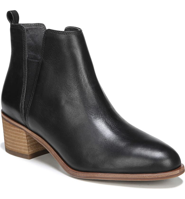 DR. SCHOLL'S Amara Bootie, Main, color, BLACK LEATHER