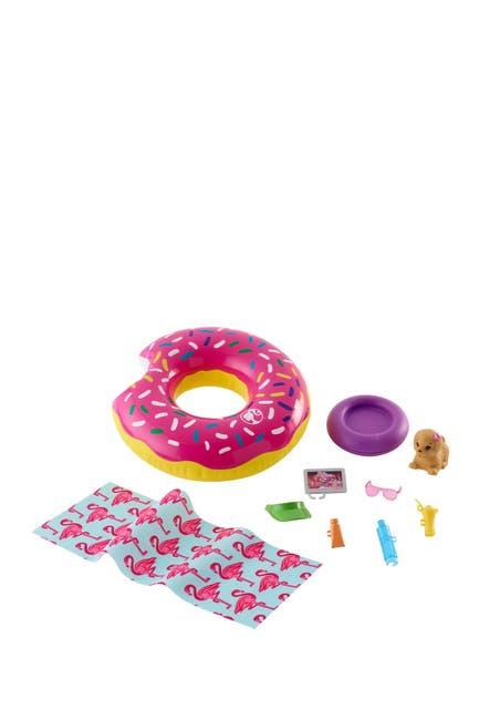 Image of Mattel Barbie Donut Floatie