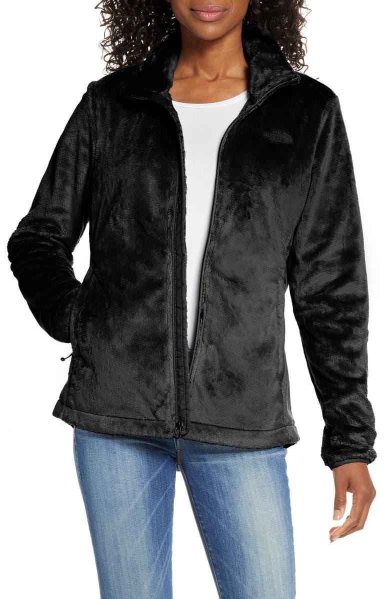 THE NORTH FACE Osito Fleece Jacket, Main, color, TNF BLACK