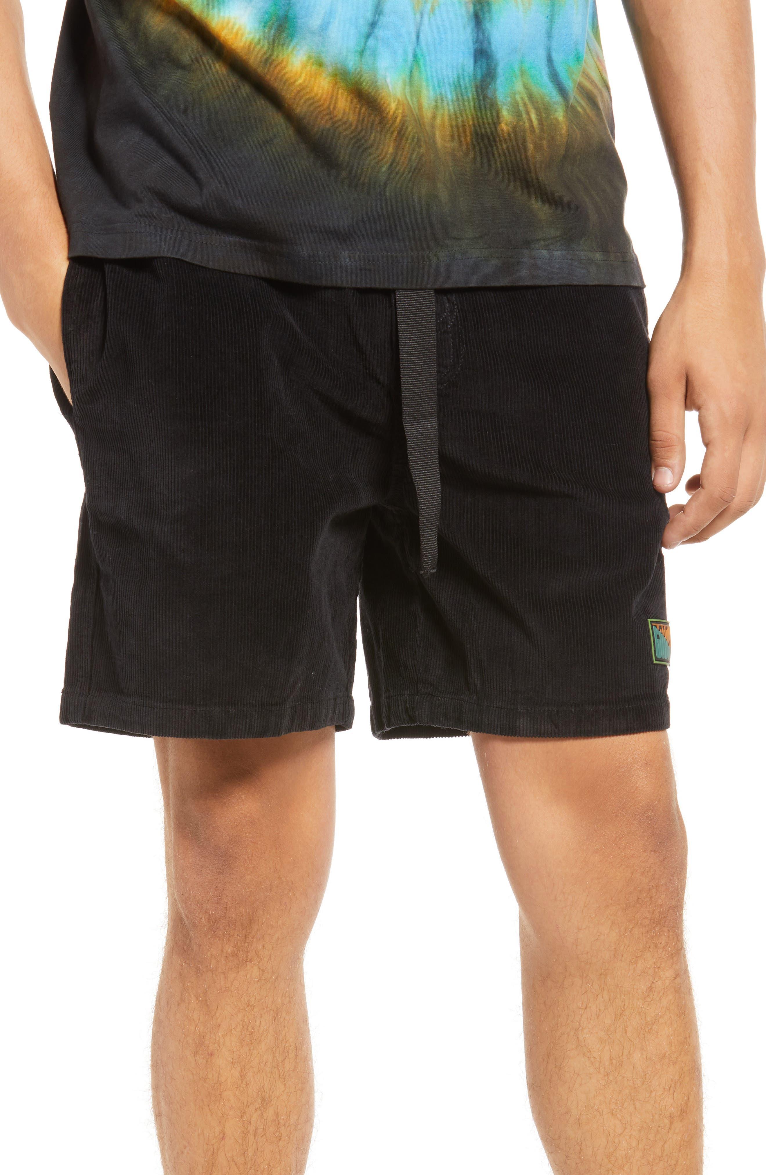 Marrietta Stretch Corduroy Shorts