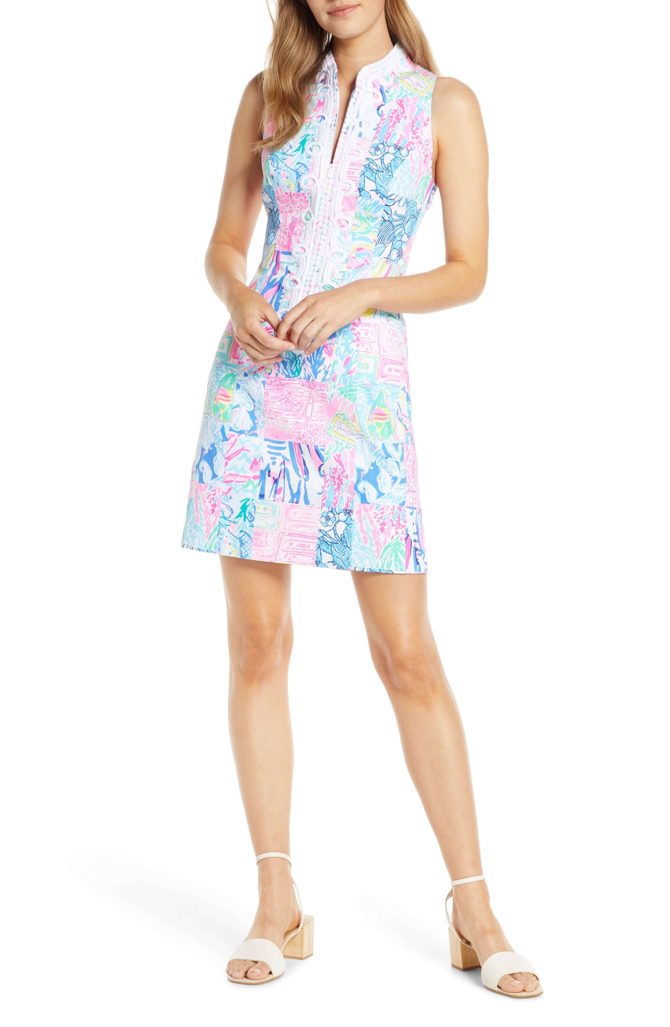 Lilly Pulitzer Alexa Print Shift Dress, Pink