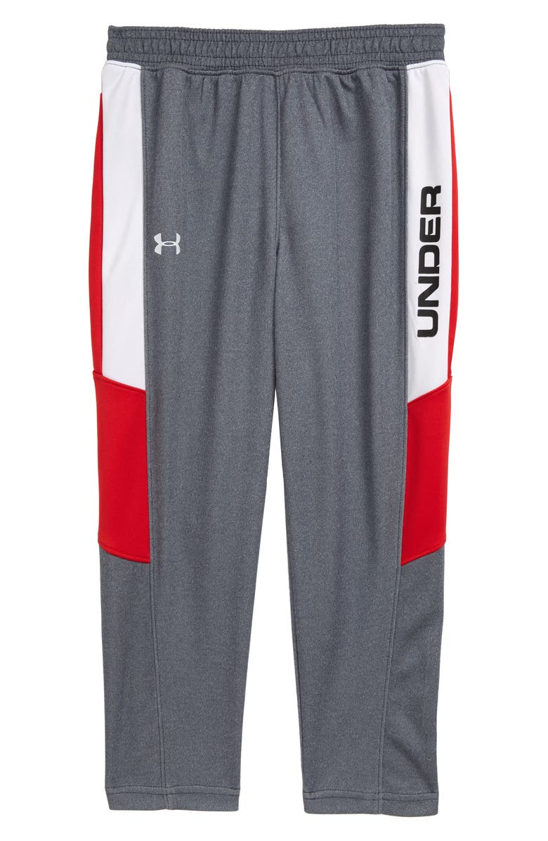 UNDER ARMOUR Pace Sweatpants, Main, color, WIRE HEATHER