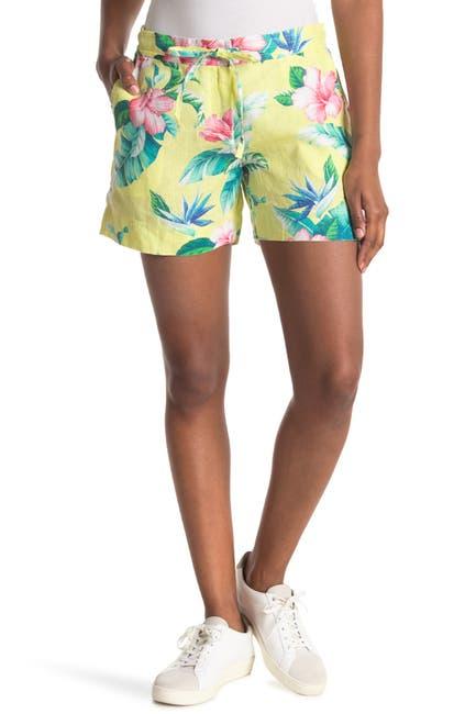 Image of Tommy Bahama Floristic Approach Hawaiian Print Shorts