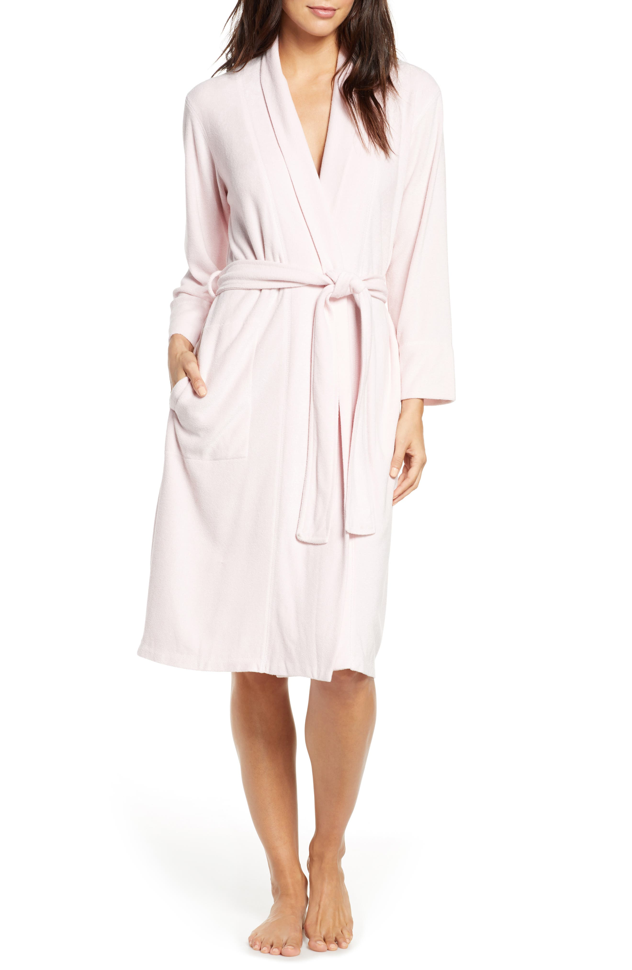 Get ready to indulge at the end of the day in this brushed-terry robe that wraps you in cozy comfort. Style Name: Natori Sierra Brushed Terry Robe. Style Number: 5891900. Available in stores.