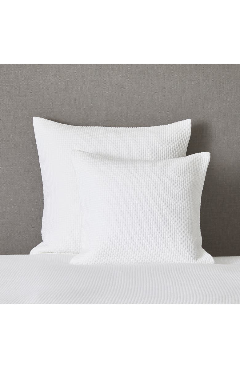 THE WHITE COMPANY Colville Cushion Cover, Main, color, WHITE