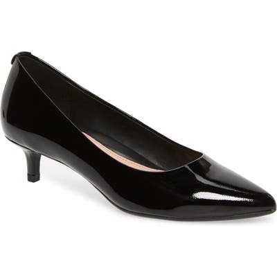 Taryn Rose Naomi Weatherproof Pump- Black