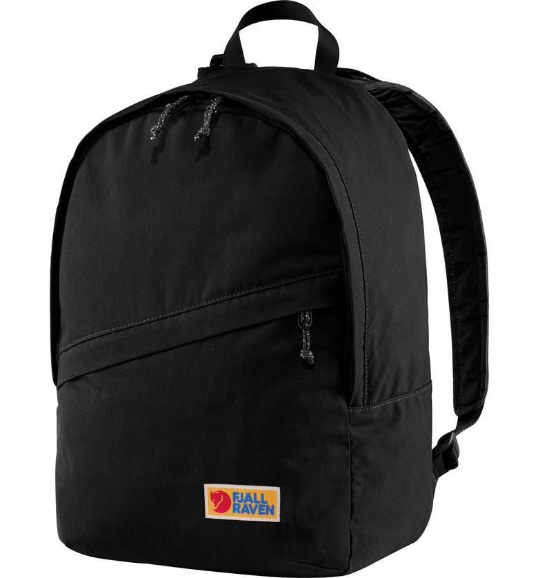 FJÄLLRÄVEN Vargdag 25L Backpack, Main, color, BLACK