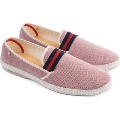 Rivieras College Slip-On, Red