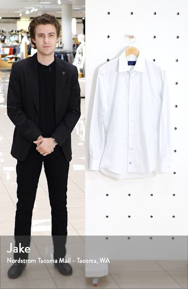 Slim Fit Geometric Dress Shirt, sales video thumbnail